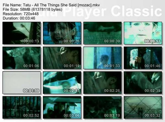 all the things she said   tatu
