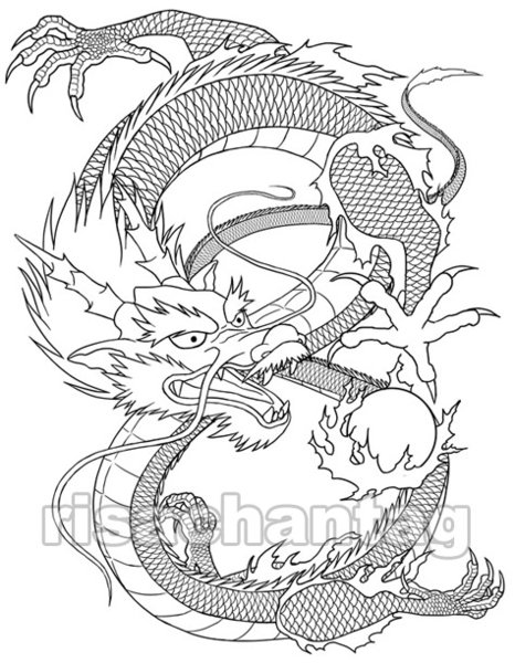 tiger dragon tattoo The Chinese dragon has been a