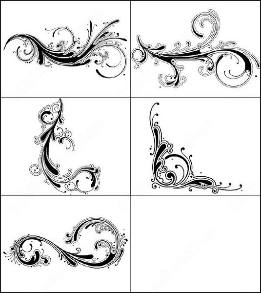 swirly tattoo. for-swirl mania in about