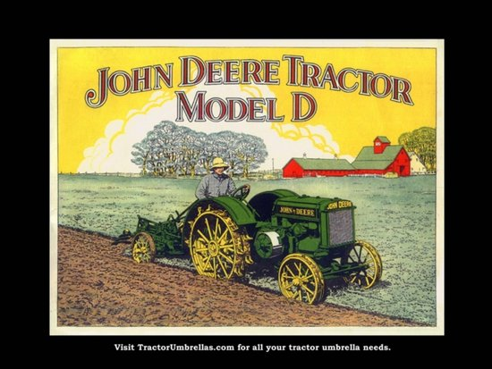 John Deere Tractor Wallpaper Border John Deere Tractor Model d