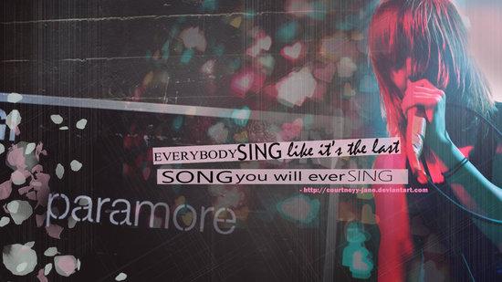 wallpaper paramore. wallpaper paramore. Paramore wallpaper - Hayley W.