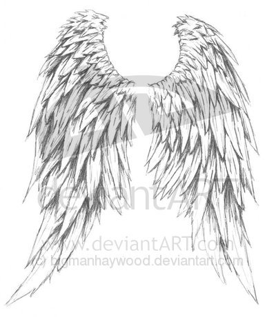 Angels Wings Tattoo on Tribal Tattoos Of Angel Wings  More Great Angel Wings Tattoo