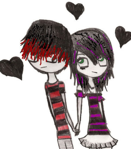 emo love cartoons cartoon. Emo love cartoons #3