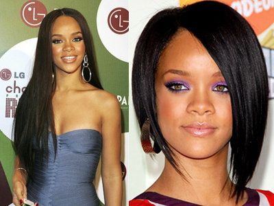 Long  Hairstyle on Victoria Beckham Hairstyles Bob  Rihanna Long And Bob Hairstyle
