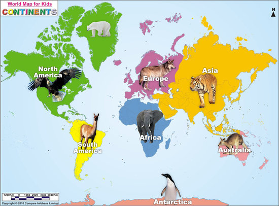 labelled map of world. labelled map of world.