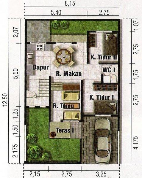Pin distribucion de casas planos casa minimalista on pinterest - Distribucion de casas ...