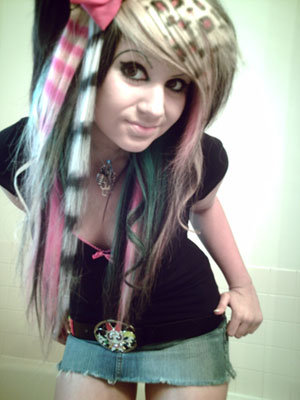 long style haircuts for girls. Emo Hairstyles For Girls With