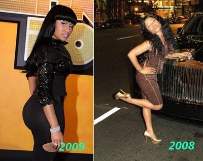 nicki minaj booty pic. nicki minaj booty before and
