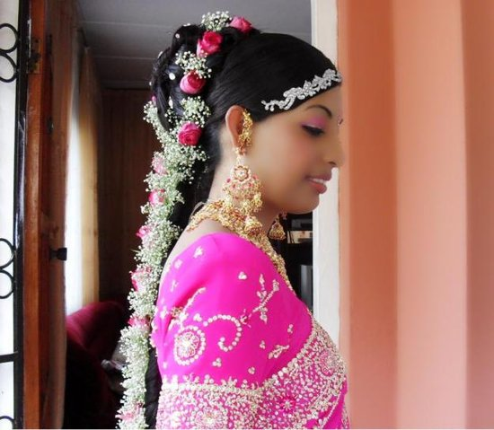 south indian bridal makeup. South Indian Tamil Bridal Hair
