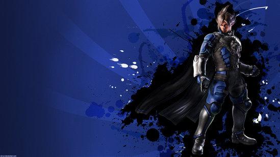 tekken 6 wallpapers. Tekken 6 wallpaper Lars blue