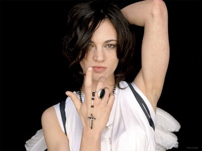 asia argento tattoo. Asia Argento desktop wallpaper