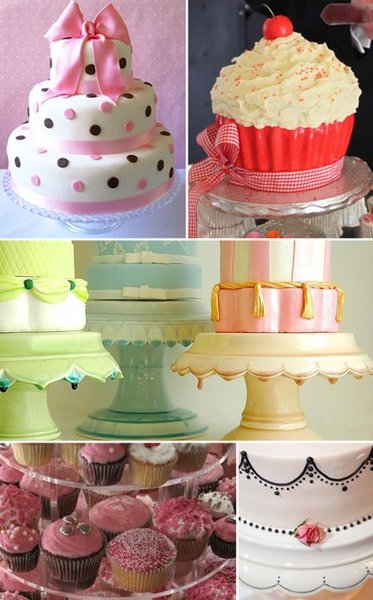 50s style wedding cakes For something a bit more quirky
