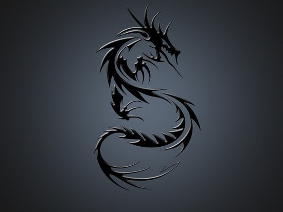 tribal dragons tattoo gallery