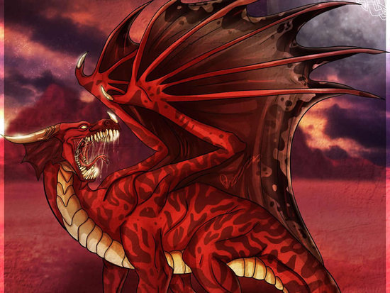 wallpaper red dragon. Dragon Red Wallpaper
