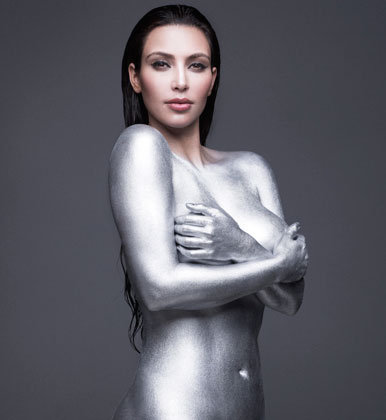 Kardashian Body Paint on Body Painting Art Designs Page 4