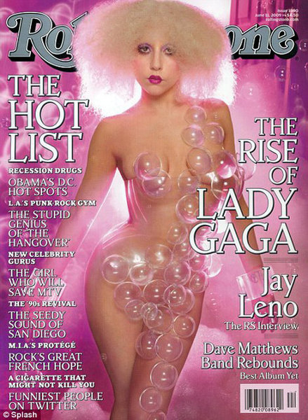 Lady GaGa Rolling Stones Cover June 2009