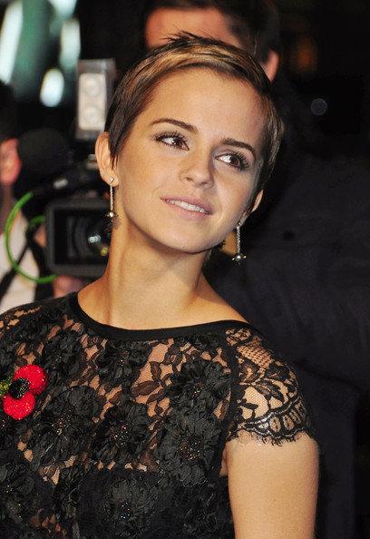 Emma Watson's Pixie Haircut