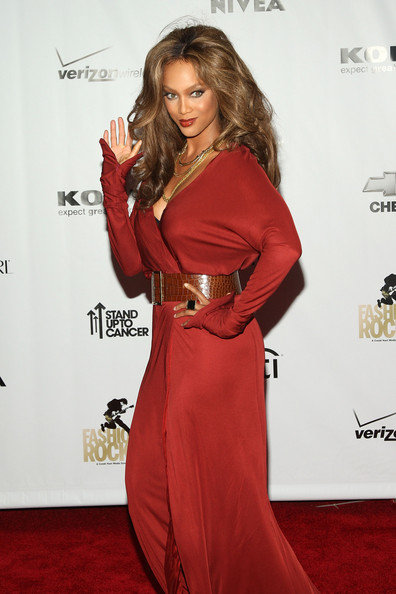 Celebrity Look of the Day Tyra Banks
