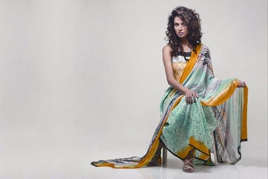 Star Pearl Lawn Collection 2011 Brand Ambassador Nida yasir 25286 2529 Nida Yasir Lawn 2011