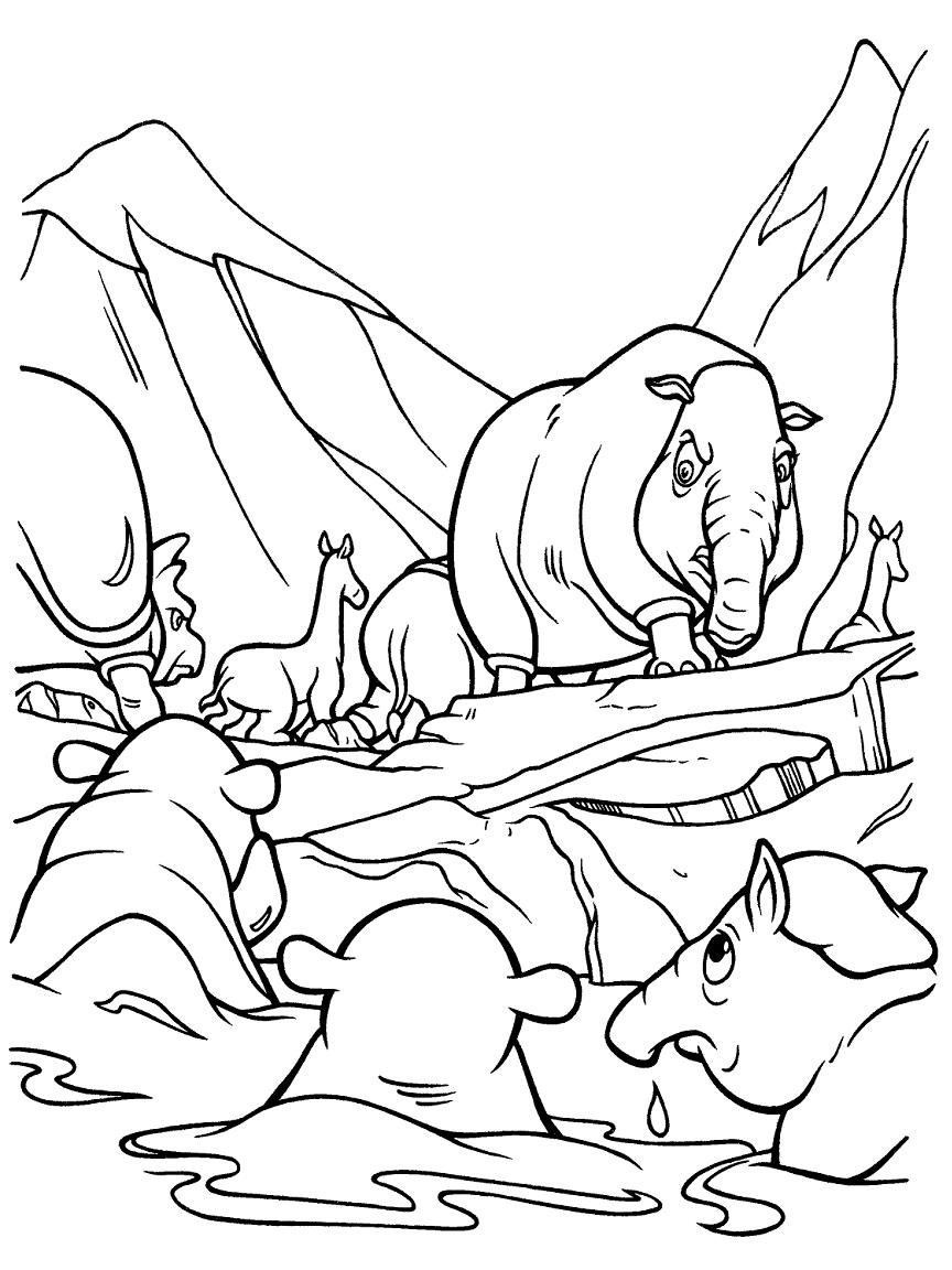 Best Ice Age Continental Drift Coloring Pages Images - Professional ...