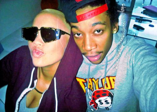 amber rose and wiz khalifa baby. makeup In-love-amber-rose-wiz-
