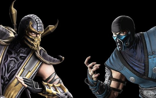mortal kombat scorpion vs sub zero wallpaper. mortal kombat scorpion vs sub