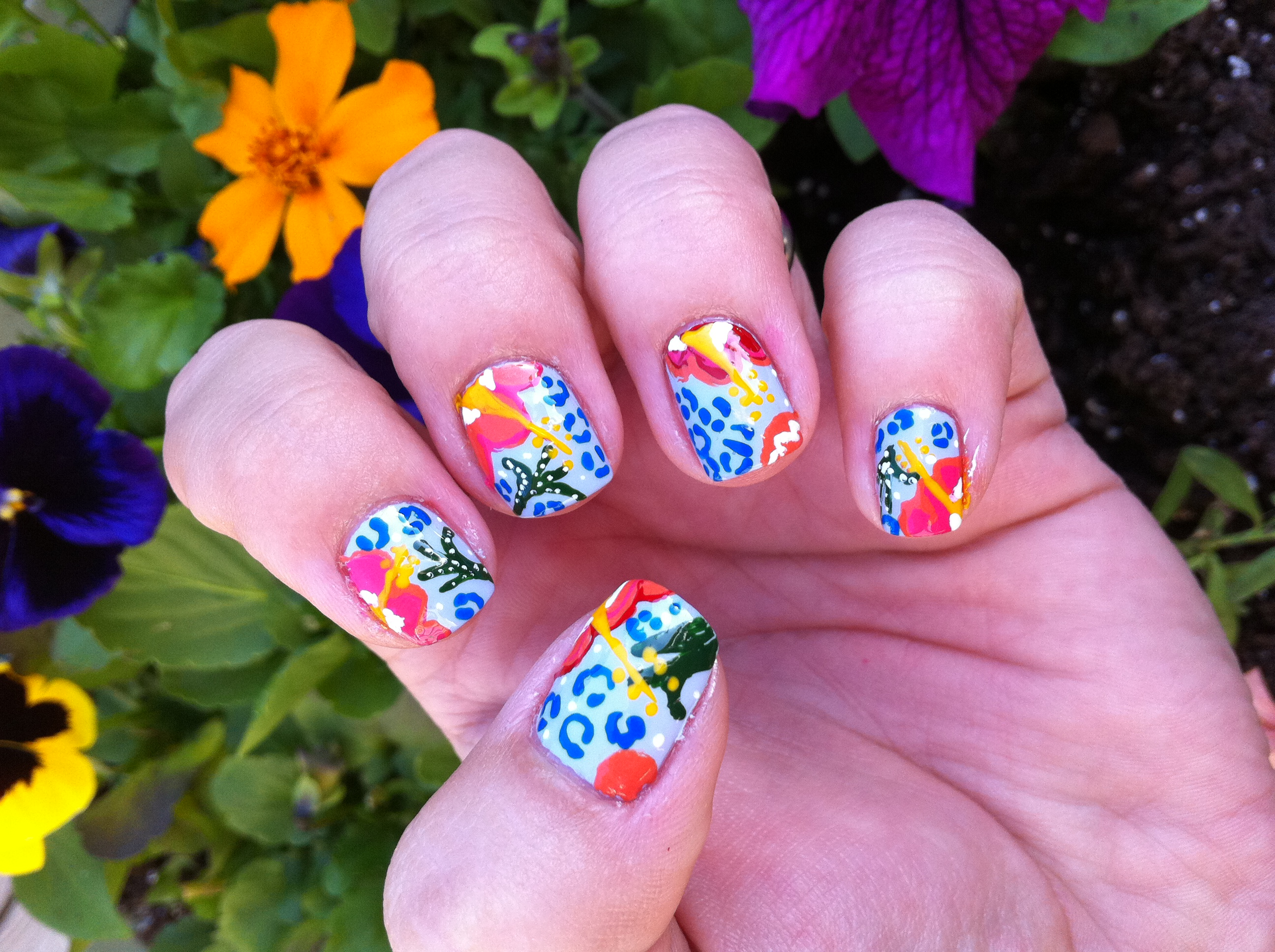 Nail art is the art of decorating nails with different materials ...