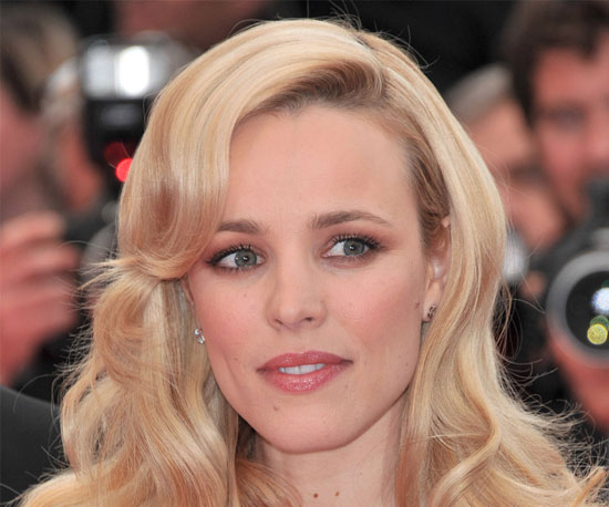 Wedding Makeup For Blonde Hair Green Eyes : Rachel McAdams Makeup at the 2011 Cannes Film Festival ...