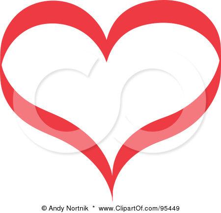 book clipart outline. heart clip art outline.