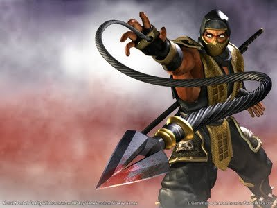 mortal kombat 9 scorpion alternate. mortal kombat 9 wallpaper