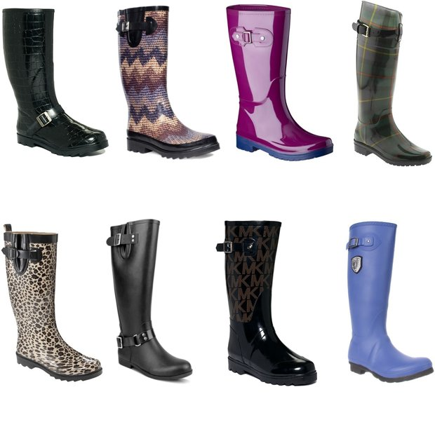 Cheap chic shopping: rainboots