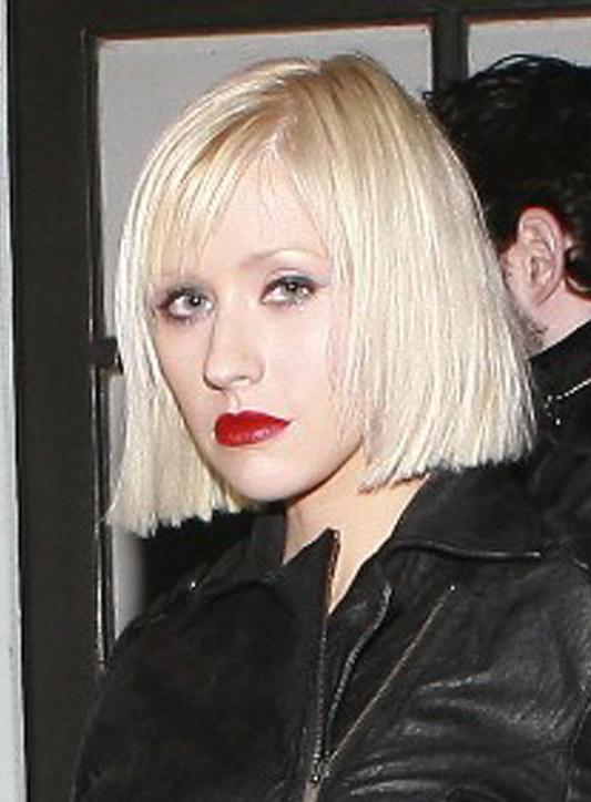 christina aguilera hairstyles. Christina Aguilera#39;s signature