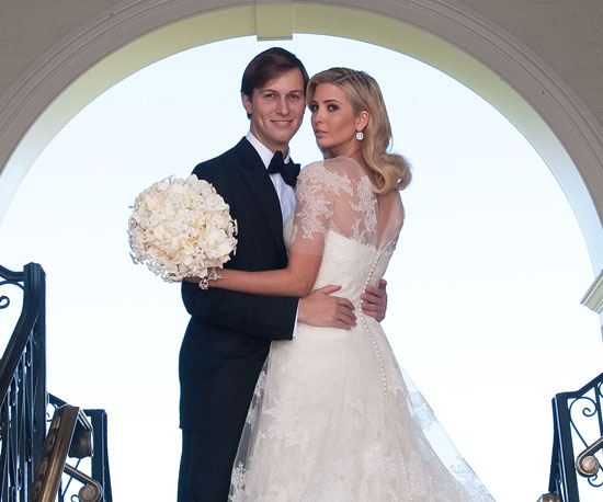 ivanka trump wedding gown. Photos of Ivanka Trump and