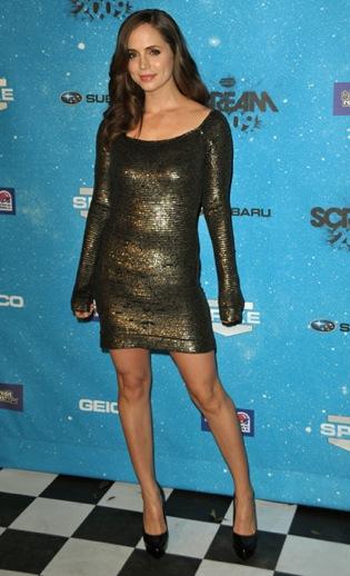 Eliza Dushku Mini Dress