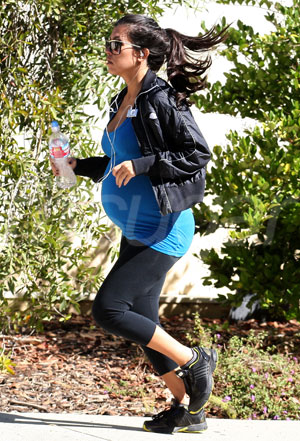 Regular exercise is encouraged by doctors for those expecting, ...