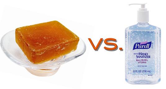 hand soap versus hand sanitizer essay