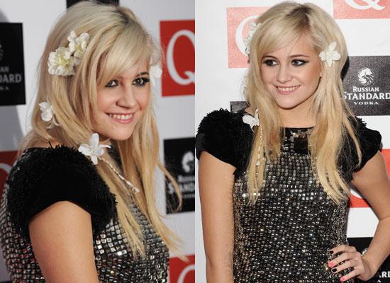 pixie lott hair. 2009 Q Awards: Pixie Lott
