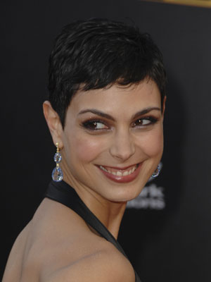 3ddcb27f811f16f9 Morena Baccarin at the AMAs How I met The Avengers!