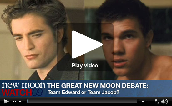 Team Edward vs Team Jacob Debate Team Jacob Debate