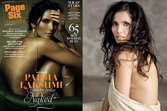 In the newest issue of Page Six Magazine, Top Chef host Padma Lakshmi bares ...