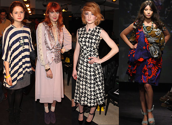 Photos from Anglomania Fashion Show With Bonnie Wright, Daisy Lowe ...