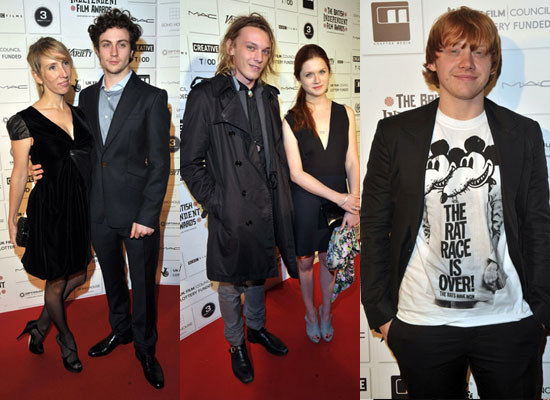Photos of Bonnie Wright, Jamie Campbell Bower, Rupert Grint, Aaron ...