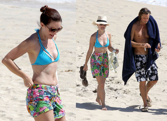 Kristin Davis and New Boyfriend Enjoy Bikini Time in St Barts