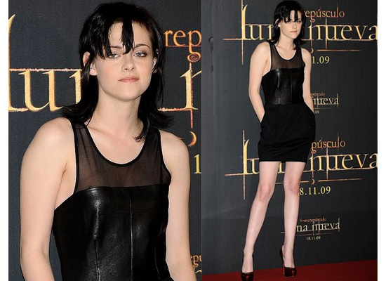 Kristen Stewart Red Carpet Dresses. the red carpet in Madrid.