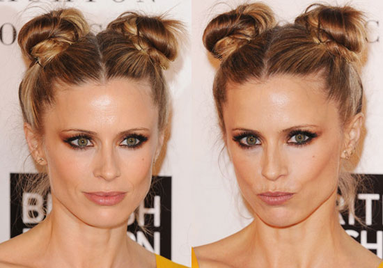 how to get the perfect space buns