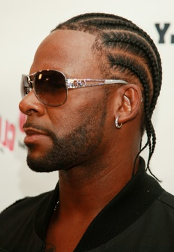 R Kelly Hair Braids Articles and Pictures