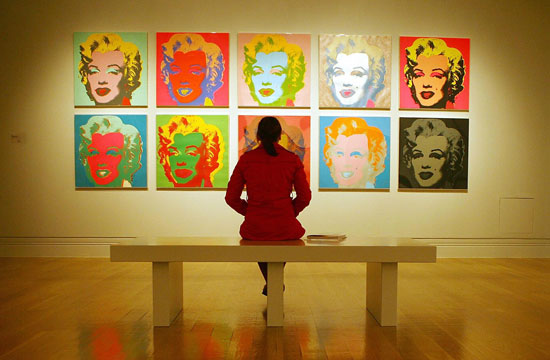 andy warhol and his painting marilyns essay