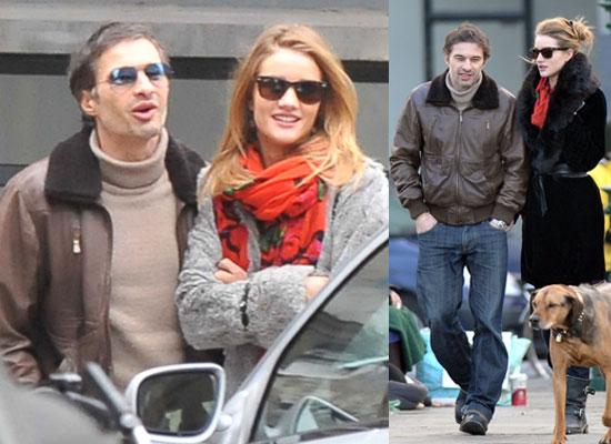 I wonder if Rosie and Olivier will still be going strong and walking red