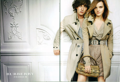 emma watson haircut burberry. girlfriend Emma Watson for