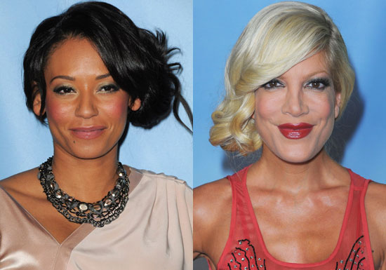 Formal Hairstyles, Mel B Hair, Tori Spelling Hair, Side Updo,